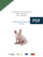 Tecnico de Restauracao Receitas de Porco