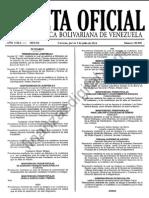 Gaceta40446 Tabulador Salarios Obreros Funcionarios Publicos