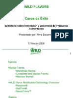 Wild Flavors-Innovación y Desarrollo