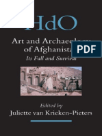 Krieken Art and Archaeology of Afghanistan Its Fall and Survival