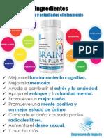 DavidValderrama Brain Fuel Plus Ingredientes