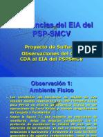 Implicancias Del EIA Del PSP-SMCV