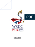 WSDC 2014 - Draw Head to Head