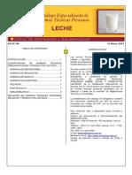 Normas (Ntp) Leche y Productos Lacteos