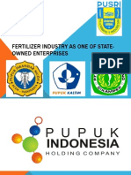 Fertilizer Industry as One of State-Owned Enterprises