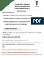 Cronograma Pruebas de Conocimientos Tecnicos Cnc 15072014