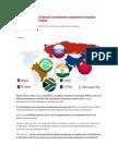 El Bloque BRICS Liderará Crecimiento Económico Mundial Durante 2014