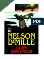 125275541 Nelson Demille La Apa Babilonului v1 0