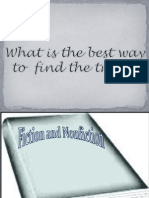 Fiction and Nonfiction Power Point