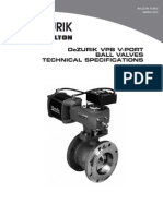 Dezurik v Port Ball Valves Vpb Technical 15-00-2
