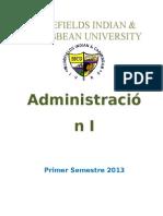 (Resumen) Tema No 3. Administración y Sociedad