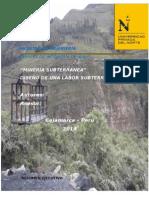 Visita Técnica a La Labor Subtrránea Mina Cajamarca de Paccha (Reparado)