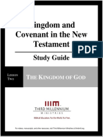 Kingdom and Covenant in the New Testament - Lesson 2 - Study Guide