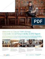 Cisco CSR Report