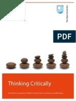 Thinking Critically