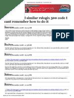 Excel to Build Similar Rslogix 500 Code - Forums.mrplC