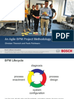 An Agile BPM Project Methodology