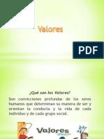 valores ppt