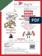AHYC Steak Nite