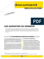 Conseil 1072 Garanties Du Vendeur-2011