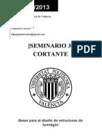 Seminario 3 - Cortante - Pronturaio Informatico Hormigon ICEA