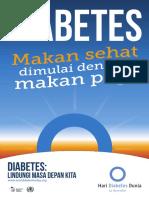 Poster Hari Diabetes Sedunia 2014