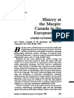 [1989] André Gunder Frank. History at the Margin Canada in the European Age (In