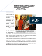 16-07-14 Informe IV Reunion 1a Infancia Nicaragua