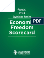 AFPFL 2014 Economic Freedom Scorecard