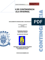 Plan de Contingencia Ola Invernal 2011