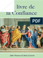 Le Livre de La Confiance