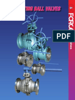 Literature Force Floating Ball Valve Catalog