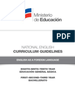 Curriculum Guidelines EFL