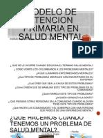 Modelo de Atencion Salud Mental 2013