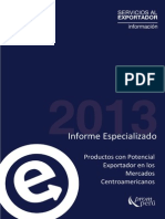 Estadisticas Hacia Los Mercados Centroamericanos