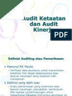 Audit Kinerja Dan Audit Ketaatan