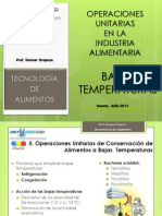 2_Conservacion_Bajas Temperaturas INDUSTRIA ALIMENTARIA