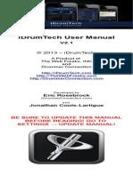 Idrumtech Manual