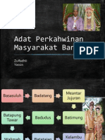 Tugasan 3 - Adat Perkahwinan Masyarakat Banjar