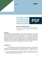Cuadro Comparativo de Los Tribunales Internacionales e Internacionalizacion