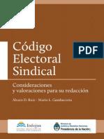 Codigo Electoral Sindical