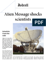 Jodrell News, Issue 1