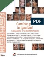 Caminos Por La Igualdad, Ciudadanía y No Discriminación
