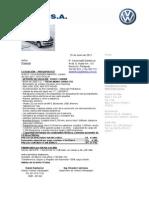 Vw Amarok Highline 4x2 Mono Turbo 140hp