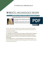 El Rey David y 49 Nombres Más Confirmados Por La Arqueología