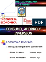 Consumo, Ahorro y Inversion