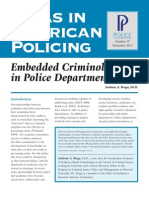 Embedded Criminologists in Police Departments