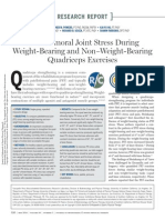 Patellofemoral Joint Stress During