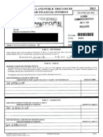 Rob Bradley 2013 financial disclosure form