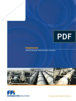Fiberstrong Piping System Above Ground Installation Manual